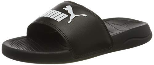 PUMA Popcat 20 Jr, Zapatos de Playa y Piscina Unisex bebé, Negro Black White 01, 37 EU