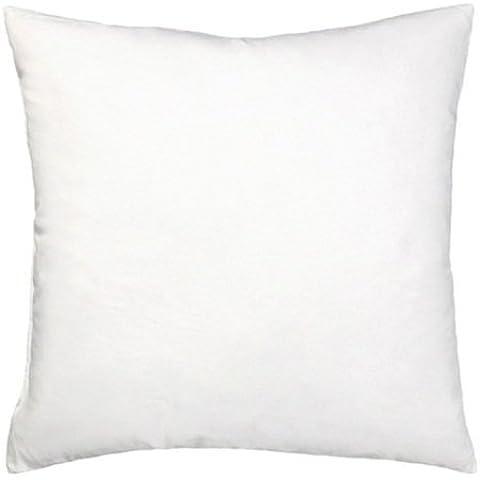 Bertha hogar - Relleno de cojín alaiz(45x45 cm), color blanco