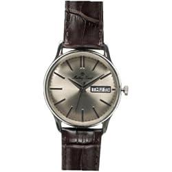 Mathey Tissot Reloj Analógico para Hombre de Cuarzo con Correa en Cuero MT0019