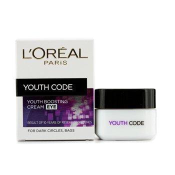 L\'Oreal Youth Code Youth Boosting Cream - Eye, verjüngende Augencreme