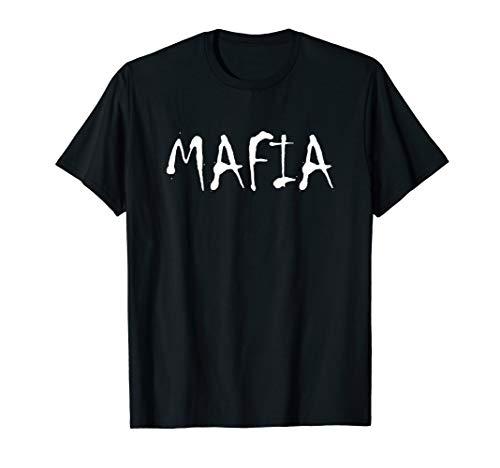 Mafia-Kostüm T-Shirt (Frauen Für Mafia-kostüme)