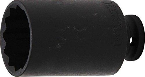 Preisvergleich Produktbild BGS 5342 Kraft-Steckschlüssel-Einsatz, 12-kant, 36 mm, 12, 5 (1/2)