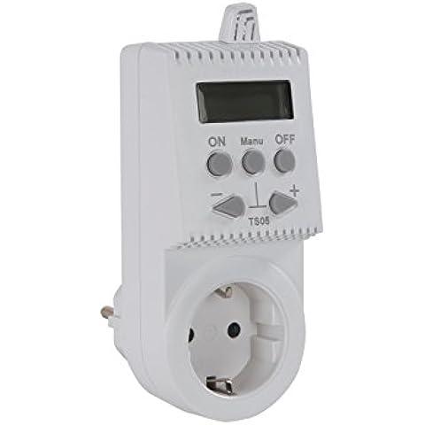 Vital jesro spina-termostato per riscaldamento rivestimenti in legno, regolazione elettronica della guida dell