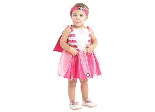 Rubie's Rosa Baby Fußball Fee Kostüm Celtic Football Club - UK 12-24 Monate (Baby Rosa Fußball Kostüm)