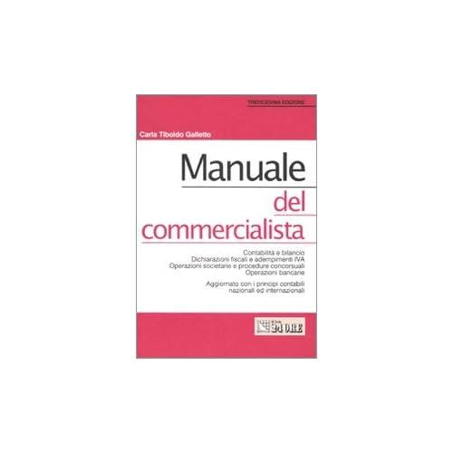 Manuale Del Commercialista