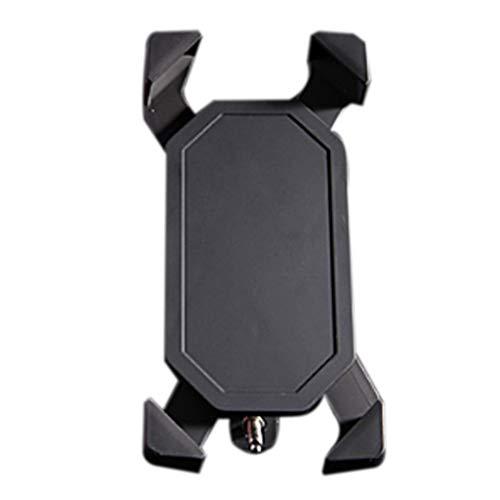 Menghail staffa antiurto e stabile del supporto del telefono cellulare della bicicletta del pvc (colore : nero, dimensioni : 93 * 180mm)