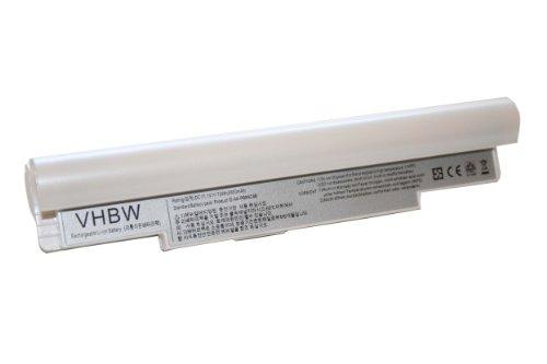 11.1V Batteria 6600mAh ALTA CAPACITA 'per SAMSUNG NC10 bianco perla PB6NC6W AA, AA-PB8NC6B, AA-PB8NC6M