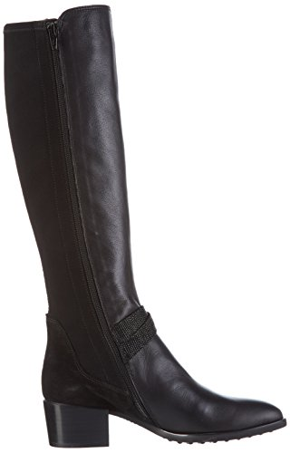 Hispanitas Liverpool, Bottes femme Noir - Schwarz (Soho-I6 Black Crosta-I6 Black LIZARD-I6 Black)