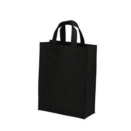 nabati wiederverwendbar Faltbare Einkaufstasche Eco Taschen Schwarz