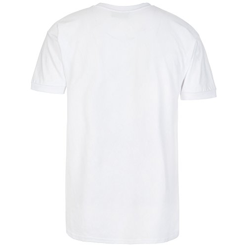 Kappa -  T-shirt - Basic - Maniche corte  - Donna Bianco bianco Large