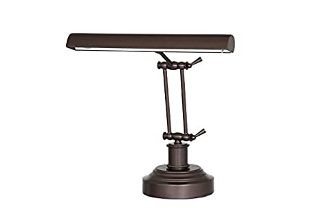 Cocoweb 36 cm 3-level Dimmable 2-point Adjustable LED Piano Desk Lamp - Mahogany Bronze DLED14MB