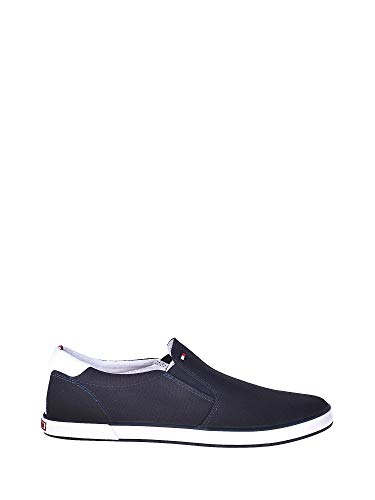 Tommy Hilfiger Iconic Slip - Mocasines Hombre Azul