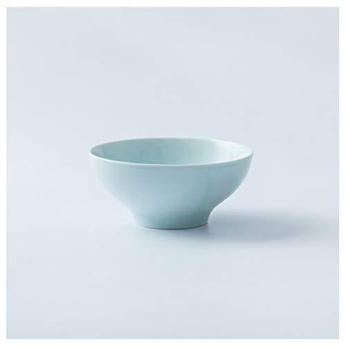 CJW Bol en Céramique Ménager Rice - Bol Simple Créatif Mignon 5 Pouces (12.5 cm) (Color : Blue)