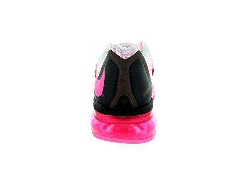 Nike Air Max 2015, Baskets mode femme blanc/rose