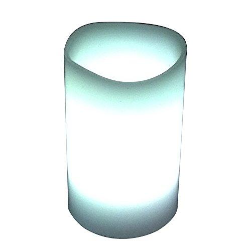 3x color cambiando las velas de la cera sin llama perfumadas de la lavanda del LED con el contador de tiempo y el telecontrol