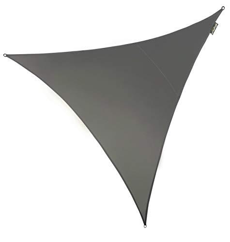 Voile d'Ombrage Charbon Triangle 5m - Imperméable - 160g/m2 - Kookaburra