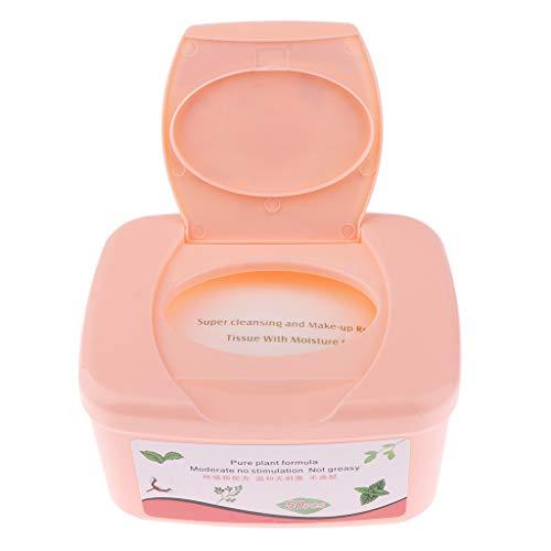 B Baosity 50 Stücke Makeup Remover Cleansing Towelettes Makeup Entferner Reinigungstücher Abschminktücher -