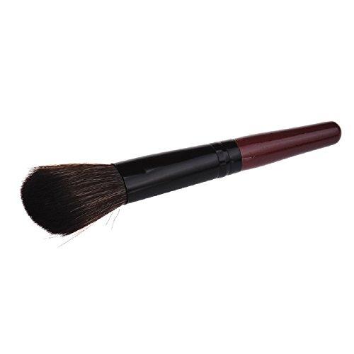 Pinceaux Maquillage,Winwintom Pinceau cosmétique professionnel (Vin rouge)