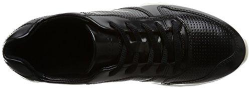 Ecco Sneak Ladies, Scarpe da Ginnastica Basse Donna Nero (Black)