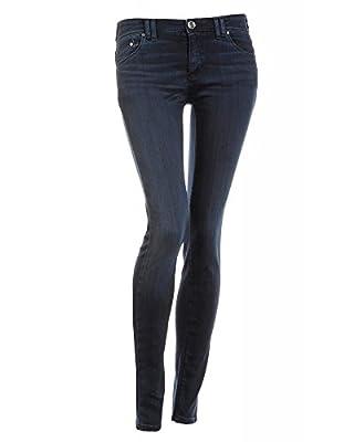 Armani Jeans Blue Dark Wash J28 Stretch Skinny Jeans