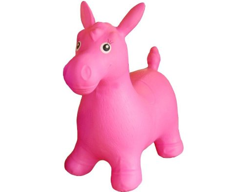 Happy Hopperz - Caballo, color rosa (HHZ06)