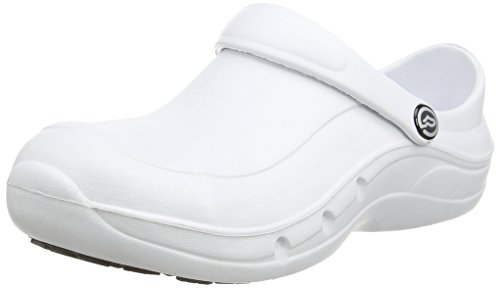 Toffeln - Eziprotekta, Calzature Di Sicurezza, unisex, Bianco (Bianco (White)), 39 Bianco (Bianco (White))