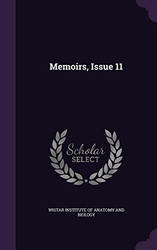 Memoirs, Issue 11