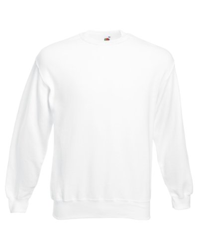 Fruit of the Loom - Sweat à capuche -  Femme x-large Blanc - Blanc