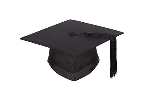 University academic mortarboard (Bachelor) - Graduation cap (Medium - Circumference 58 cm or less)