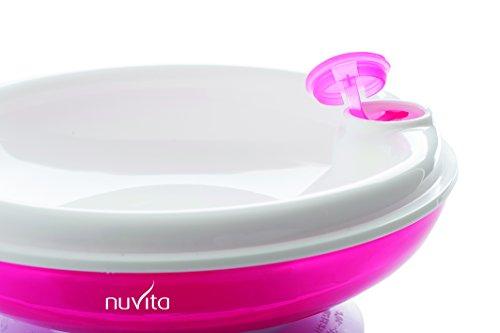 Nuvita NU-PPPL0026  1427 Piatto caldo con Ventosa, Rosa