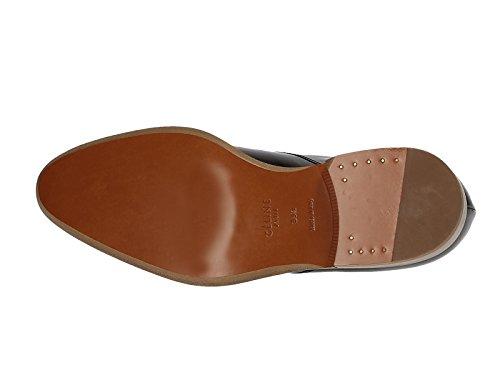 Chaussures à lacets Céline femme en cuir noir - Code modèle: 313663BMSC Noir