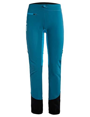 VAUDE Damen Larice Light II für Skitouren Hose, Pacific, 40