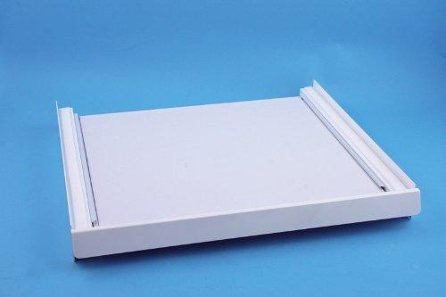 daniplus© Verbindungsrahmen / Zwischenbaurahmen mit Arbeitsplatte für Waschmaschine und Trockner 'De Luxe' ('w-arbeitsplatte)