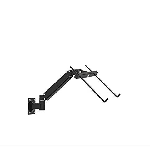 Wall-mounted laptop computer stand telescopic rack universal hover around the level of rotation
