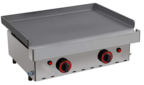 Plancha a gas industrial cocina 60 - MBH