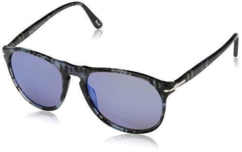 Persol Herren 0Po9649S 1062O4 55 Sonnenbrille, Blau (Blute Grey Blue),