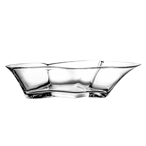 Crystelle aljulia 3612 Coque, Cristal au Plomb, Style Moderne, Massif, 28 cm