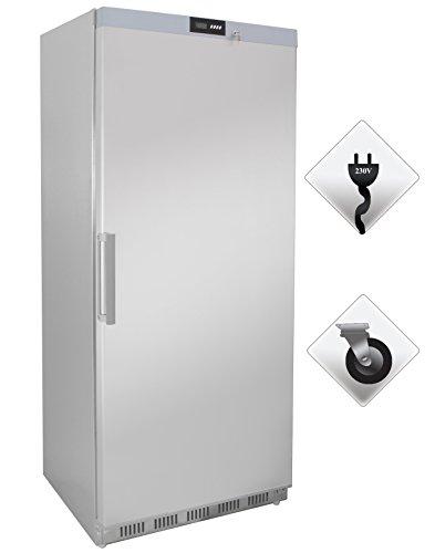 Zorro - Tiefkühlschrank ECO600F ss - Edelstahl - Gastro Tiefkühlschrank mit Volltüre - R600A - Gefrierschrank