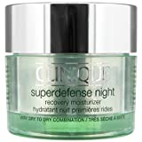 Clinique Superdefense Night Recovery Moisturiser Very Dry/Dry Combination Skin 50ml