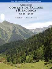 Descargar Libro Atles dels comtats de Pallars i Ribagorça (v806-v998) de Jordi Bolòs Masclans