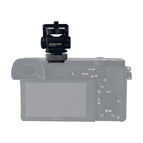 ChromLives Adattatore per slitta Hot Shoe con attacco per slitta a fotocamera calda w 4 pezzi 1//4 20 Supporto per slitta con attacco per slitta flash a treppiedi