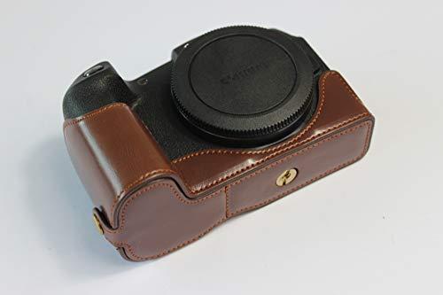 EOS RP Hülle, Zakao PU Leder halbe Öffnung Version Kamera Tasche mit Handschlaufe Schutzhülle Tasche für Canon EOS RP (Canon-film-kamera Vintage)