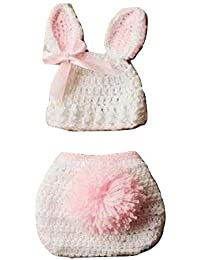 a2ae24949 Babymoon (SET OF 2) Baby Rabbit Designer Crochet Clothing/Best Costume/ Photography