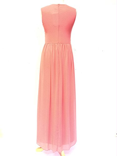 LIVE2LOVE - Robe - Femme Rose - Corail