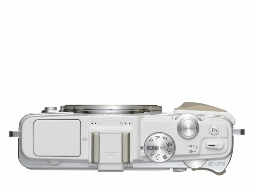 Olympus E-P5 Systemkamera (16 Megapixel MOS-Sensor, True Pic VI Prozessor, 5-Achsen Bildstabilisator, Verschlusszeit 1/8000s, Full-HD) Gehäuse weiß - 3