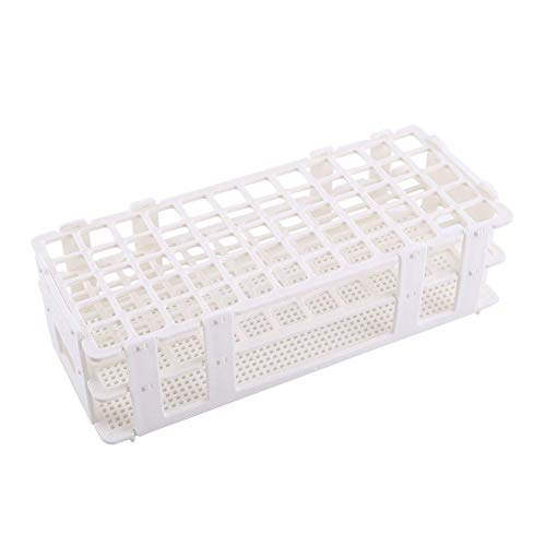1 unid Plastic Test Tube Rack 60 Agujeros Holder Storage Stand 3 Capas 16mm Hole for Lab