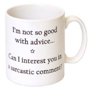 Acen I'm Not So Good avec Conseils Mug en céramique, Blanc, 311,8 Gram