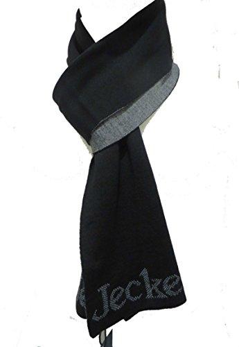 Jeckerson sciarpa scarf 02259 nero unisex jeans