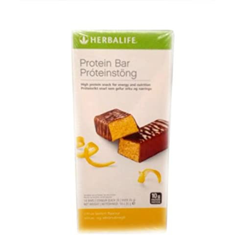 Herbalife Protein Bars - Citrus Lemon (14 Bars per box) - 490g