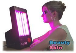 Beauty Skin Acne Treatment Lamp - a revolutionary new lightbox treatment for acne, spots and blemishes and problem skin